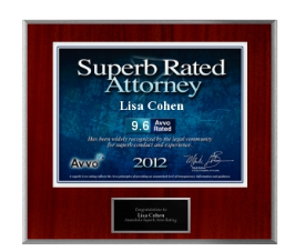 Superb Rated Attorney Lisa Cohen
